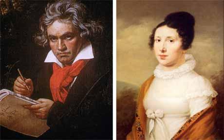 Bên phải là Elise, nguồn cảm hứng cho bản nhạc được yêu thích nhất của Beethoven.